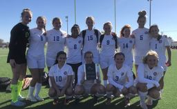 Girls JV Soccer win CCISD Tournament for a 3rd Straight Year!